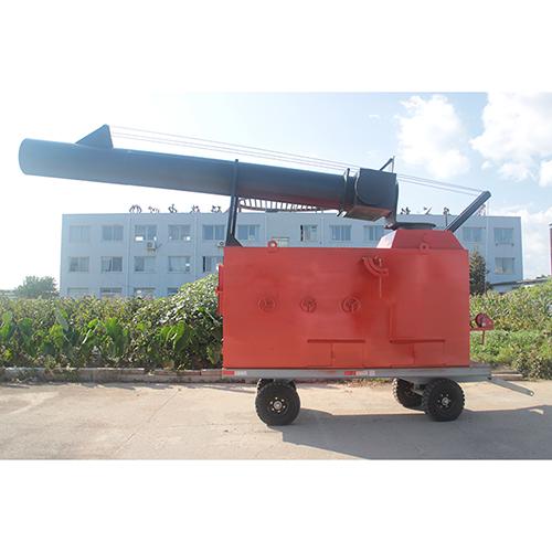 无动力可燃垃圾热解气化燃烧处理装备