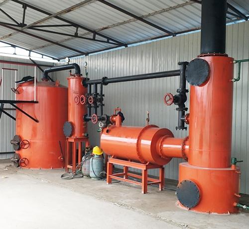 生活垃圾磁化低温热解气化处理装置